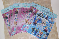 Wholesale 20 Sheets Frozen Party Bag Stickers Frozen Elsa All Occasions Decals Stickers