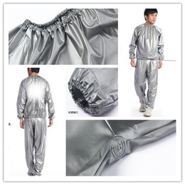 Wholesale Weight loss sauna suit sweat clothes clothing men and women lose weight slimming Workout clothes diet