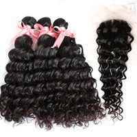 5A Unprocessed 100% Brazilian Virgin Human Hair Extensions D...