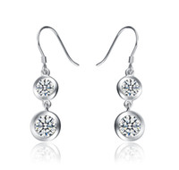 Dangle & Chandelier Silver Bohemian Aivni 2014 new solid 925 sterling silver earrings European fashion Dangle & Chandelier earring free shipping Ai2062