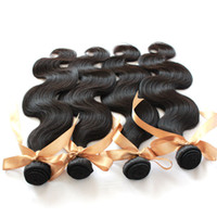 100 natural human hair - Dyeable Bleachable Queen Hair Peruvian Virgin Hair Weave Human HairExtensions Natural BlackColor Remy Virgin Hair