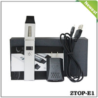 Wholesale E cigarette ZTOP E1 newest product for electronic cigarette that can record and manage your vapor history