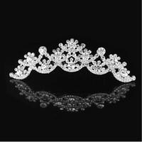 Cheap Hair Combs bridal tiaras hair Best Rhinestone/Crystal  bridal Crown