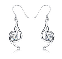 Dangle & Chandelier Silver Bohemian Aivni Fine jewelry solid 925 sterling silver earrings European fashion Dangle & Chandelier earring free shipping Ai2063