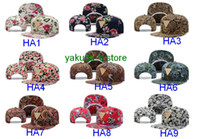 hater baseball cap flat along the hip- hop flowers flower hat...