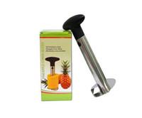 Wholesale Big promotion Fruit Pineapple Corer Slicer Peeler Cutter Parer Knife Stainless Kitchen Tool K07770