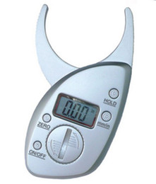 Wholesale Digital Body Fat Caliper Skin Fold Measurement Fat Thickness