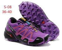 Wholesale new Solomon summer sports hiking shoes waterproof outdoor off road running shoes for men and women