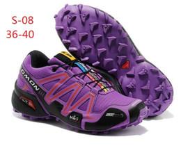 Wholesale envío libre de los nuevos zapatos de senderismo Deportes de verano Salomón impermeable al aire libre todoterreno zapatillas deportivas para hombres y mujeres