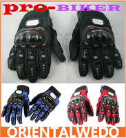 Wholesale Motorcycle Racing Accessories Parts Bike Bicycle Full Finger Protective Gear Gloves Free Drop Ship TOP SALE