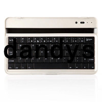 Wholesale Mobile Wireless Bluetooth ABS Keyboard Case Cover Stand for Google Nexus Tablet Accessories Drop Shipping dandys