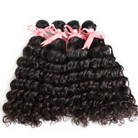 7A 3pcs lot Brazilian Peruvian Malaysian Indian Hair Weft We...