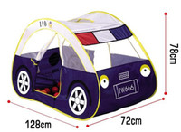 Beach Toys   201404Q 15pcs Child Kids play tent ultralarge police car toy tent indoor outdoor beach play house 1213886784