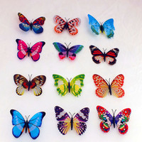 Wholesale 1404x D mixed Artificial Butterfly for Wedding Decorations Party Supplies cm