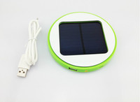 Wholesale Solar Charger Power Bank Potable Battery Packs Window Emergency mah Charger Outdoor Colorful