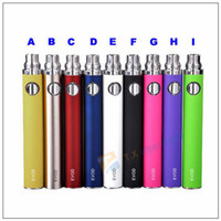 Wholesale EVOD twist Variable Voltage Battery Adjust Voltage for eGo Series Atomizer electronic cigarette with mAh DHL
