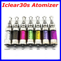 Atomizer   Itaste iclear30s Atomizer Replaceable Duil Coil Clearomizer Iclear 30s Atomizer for EGO Electronic Cigarette