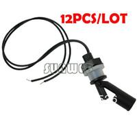 Wholesale 12Pcs PP W VDC Low Pressure Side Mount Horizontal Water Level Sensor Liquid Float Switch For Tank Pool TK0885
