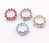al por mayor joyería del shamballa de la flor-2013 nuevos relojes cristalinos de la joyería de Shamballa del reloj del reloj de Shamballa de la cara del reloj de la flor del cuarzo de los relojes ZO25