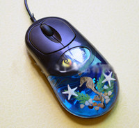 Wholesale 1404c The mouse insect amber computer accessories mouse wired mouse