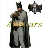 batman costumes for adults - Adult and kids batman costume halloween costumes for men Bodysuit zentai plus size custom carnival superhero cosplay D