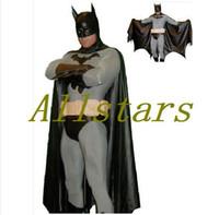 Wholesale Adult and kids batman costume halloween costumes for men Bodysuit zentai plus size custom carnival superhero cosplay D