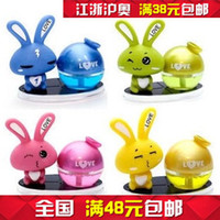 Wholesale free shinpping LOVE rabbit love rabbit car perfume car perfume upscale perfume doll ornaments