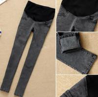 2014 New confortable women maternity jeans pants trousers, bi...