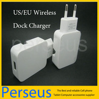 Wholesale EU US Plug USB Wall Charger Docking Station Stand Holder Power Dock Cradle charger Wireless adapter For iPhone C S Samsung Galaxy S3 S4