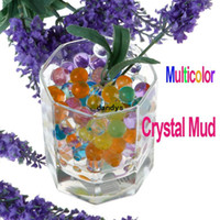 Crystal Soil crystal water beads wholesale - Freeshipping About Bags Magical Crystal Mud Soil Water Beads for Flower Plant Multicolor Dropshipping dandys