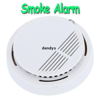 H9487 Smoke Detector  White Stable Photoelectric Smoke Alarm Fire Smoke Detector Sensor Home Security System for Home Freeshipping wholesales, dandys