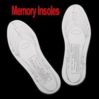 Soles White Memory Foam Freeshipping White Comfortable and Durable Anti-Arthritis Memory Foam Shoe Insole ,10pairs lot ,Dropshipping Wholesale, dandys