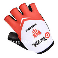 trek bike - The best quality NEW trek Cycling gloves Half Finger Bike Bicycle sky Half Finger Cycling Gloves a