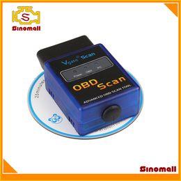 Wholesale Vgate MINI327 ELM Bluetooth OBD2 V1 Diagnostic Tool MINI ELM327 MINI ELM OBD scanner