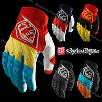 Wholesale 2014 Troy Lee Designs GP Glove Motocross Enduro ATV MTB BMX DH offroad glove Bicycle Mountain Dirt Downhill Bike Cycling glove