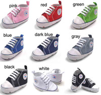 Wholesale new sport Baby First walker shoes Prewalker five star shoes autumn or spring for boys and girls sneakers