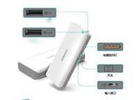 Wholesale 50pcs ROMOSS sense mah Dual USB external battery pack power bank charger for iPhone iPad iPod Samsung HTC Smartphone