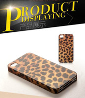 For Apple iPhone Plastic Yes Luxury Leopard Prints hard case for iPhone 4g 4s , Back cover Case for iphone 4