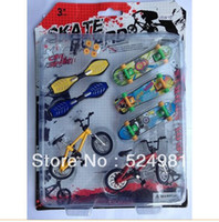 Wholesale Finger skateboards Finger bicycle Educational toys Birthday gift for boys