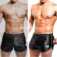 Shorts running shorts - 2pcs mens sexy underwear running sports shorts tight tennis pants suits boxer gym gay wear silk penis home beach basketball man
