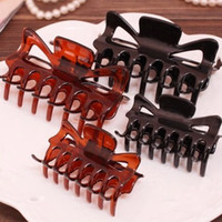 Wholesale Acrylic charm women claw clamps claw hair clips clip hair decoration hair accessories Exclusive fashion lovely claw clip for women hair