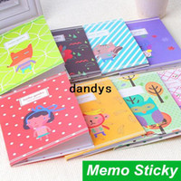 scrapbooking supplies - 24 Sticky notes Cute animal Memo pad Post it notes Scrapbooking stickers paper Stationery Office school supplies dandys