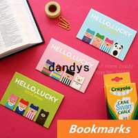 Book Ends metal bookmark - 144 Magnetic Bookmarks Lucky boy Metal bookmark Book Page Holder Korean stationary office materials School supplies dandys