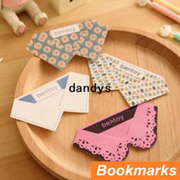 Wholesale 36 Making skirt bookmark PVC Book Page Holder book marker wedding souvenir office materials School supplies dandys