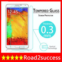 Protect your phone screen For Samsung Galaxy Note 3 III N9000 retail and wholesale 2014 New Premium Tempered Glass Screen Protector For Samsung Galaxy Note 3 Tempered Glass Protective Film Packing DHL Fedex Free shipping
