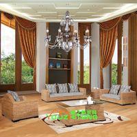 Wholesale Teng quiet rattan sofa rattan furniture living room furniture sofa rattan furniture factory direct custom combination
