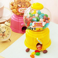 Wholesale 6 Candy machine Piggy bank Money box Saving Coin box Moneybox Unique toy Decorative Novelty household gift zakka dandys
