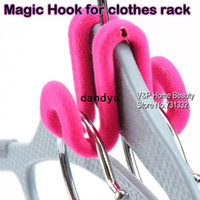 Wholesale 3KG Magic hook for clothes rack Bedroom closet wardrobe organizer Rack hanger Innovative items Novelty household TB8528 dandys
