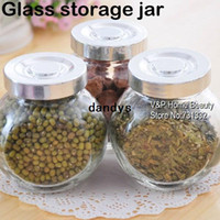Wholesale 2 ml Glass jars and lids Food Candy storage Tea container Caning Sealing Violetta Mason Jars Kitchen accessories dandys