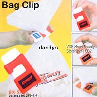 Wholesale Plastic Seal Clip Bag clamp clip for food and fruit Innovative items Kitchen accessories Novelty household trash pack clip dandys